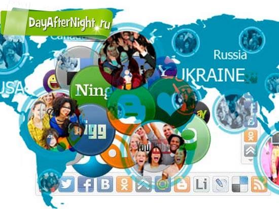share42 социальные кнопки